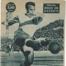 Coleccionismo deportivo: WILSON, DELANTERO CON REMATE - ALAVÉS - COLECCIÓN ÍDOLOS DEL DEPORTE Nº 70 - AÑO 1959. Lote 183917483