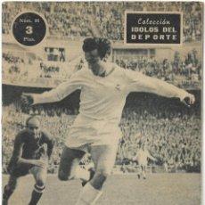 Coleccionismo deportivo: MARSAL, EL AS DEL DRIBLING - REAL MADRID - COLECCIÓN ÍDOLOS DEL DEPORTE Nº 86 - AÑO 1959. Lote 183917892
