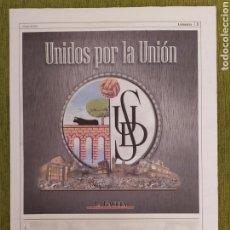Coleccionismo deportivo: SUPLEMENTO 80 PÁGINAS UNIÓN DEPORTIVA SALAMANCA DE LA GACETA DE SALAMANCA. INCLUYE PÓSTER UDS 2012. Lote 183961848