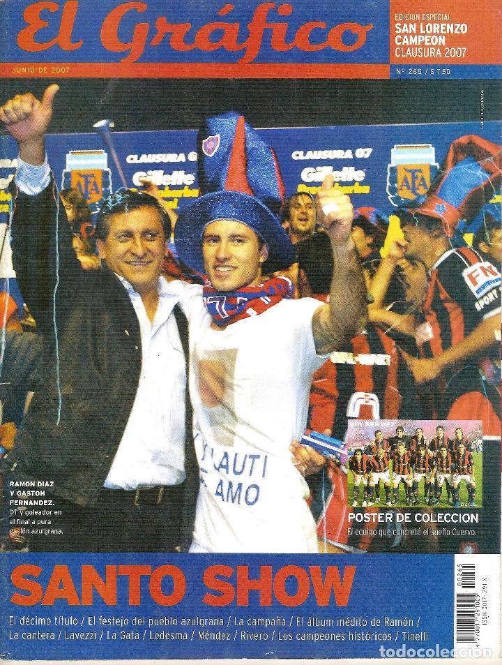 Coleccionismo deportivo: LOTE 14 EDICIONES ESPECIALES EL GRÁFICO (ARGENTINA) VER RELACIÓN - Foto 2 - 184079340