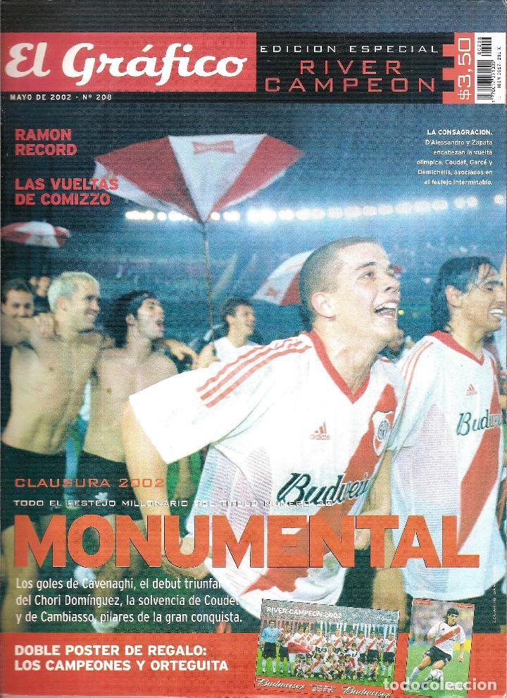 Coleccionismo deportivo: LOTE 14 EDICIONES ESPECIALES EL GRÁFICO (ARGENTINA) VER RELACIÓN - Foto 4 - 184079340