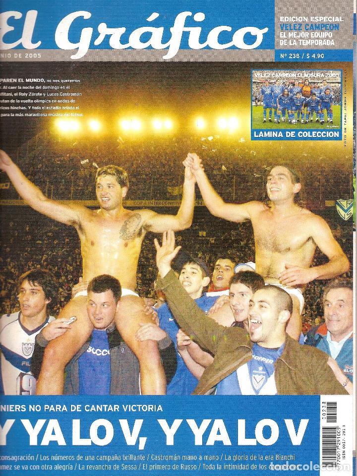 Coleccionismo deportivo: LOTE 14 EDICIONES ESPECIALES EL GRÁFICO (ARGENTINA) VER RELACIÓN - Foto 6 - 184079340