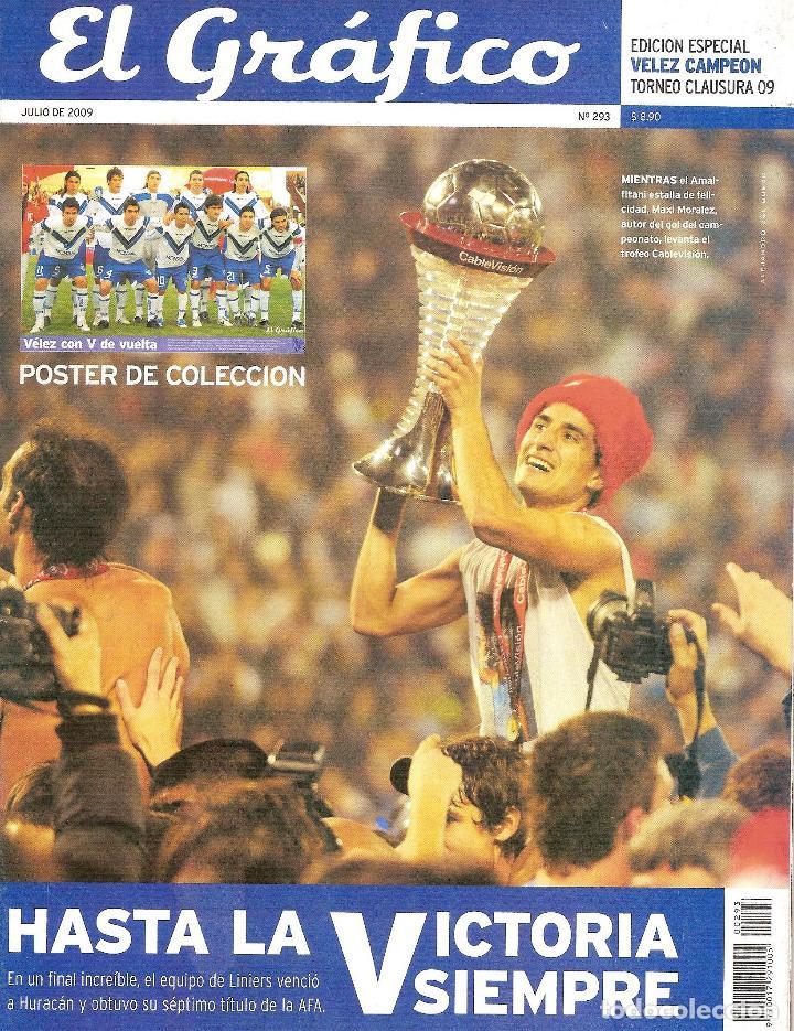 Coleccionismo deportivo: LOTE 14 EDICIONES ESPECIALES EL GRÁFICO (ARGENTINA) VER RELACIÓN - Foto 7 - 184079340