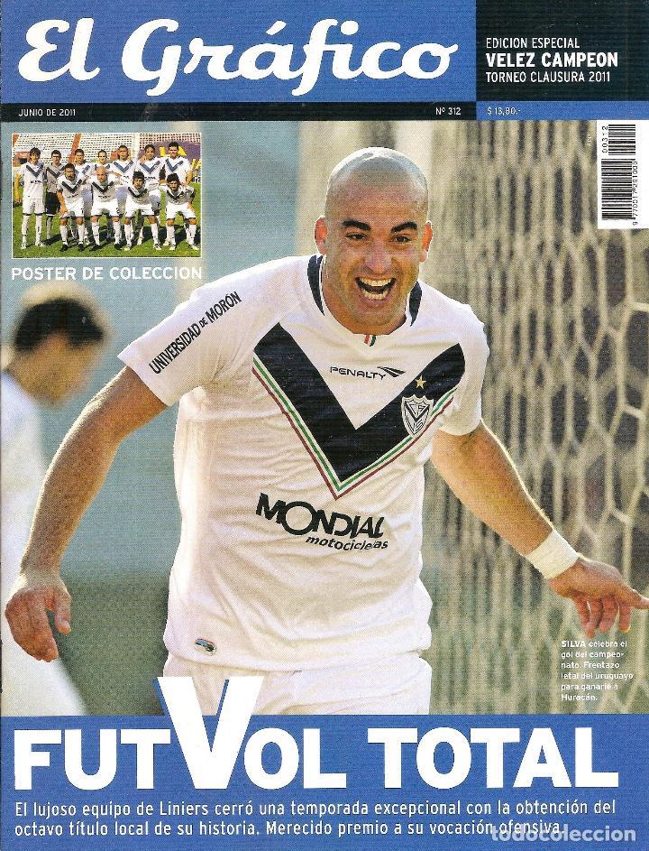 Coleccionismo deportivo: LOTE 14 EDICIONES ESPECIALES EL GRÁFICO (ARGENTINA) VER RELACIÓN - Foto 8 - 184079340