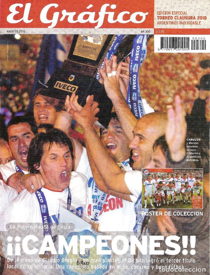 Coleccionismo deportivo: LOTE 14 EDICIONES ESPECIALES EL GRÁFICO (ARGENTINA) VER RELACIÓN - Foto 15 - 184079340