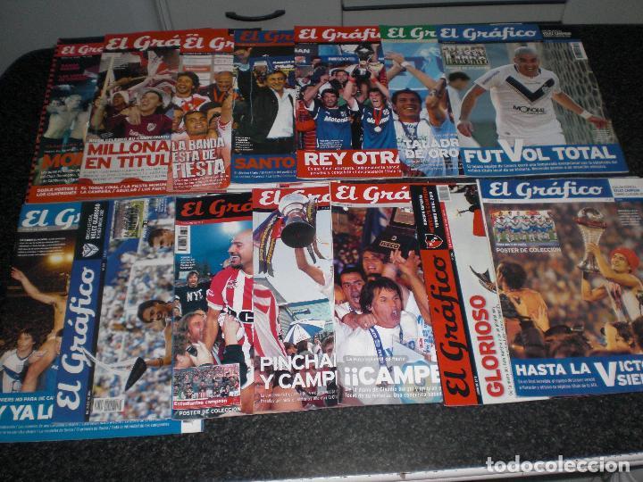 LOTE 14 EDICIONES ESPECIALES EL GRÁFICO (ARGENTINA) VER RELACIÓN (Coleccionismo Deportivo - Revistas y Periódicos - otros Fútbol)