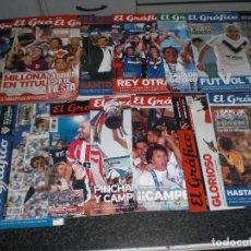 Coleccionismo deportivo: LOTE 14 EDICIONES ESPECIALES EL GRÁFICO (ARGENTINA) VER RELACIÓN . Lote 184079340