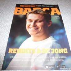 Coleccionismo deportivo: (LLL)F.C.BARCELONA Nº: 99(7-2019) !!!BARÇA CAMPEÓN LIGA !!! ESPECIAL BASILEA,DE JONG. Lote 184166853