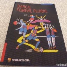 Coleccionismo deportivo: (LLL) BARÇA FEMENINO,PLURAL.. Lote 184178982