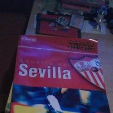 Coleccionismo deportivo: ANUARIO DEL SEVILLA. TEMPORADA 2001 - 2002. EL CORREO DE ANDALUCIA. (B/A60) TAPA RUSTICA. 184 PÁGIN. Lote 184216441