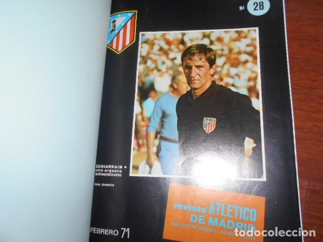 Coleccionismo deportivo: TOMO,REVISTA ATLETICO DE MADRID 28 AL 38 1971 - Foto 2 - 184340785