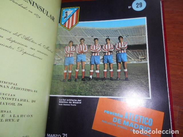 Coleccionismo deportivo: TOMO,REVISTA ATLETICO DE MADRID 28 AL 38 1971 - Foto 3 - 184340785