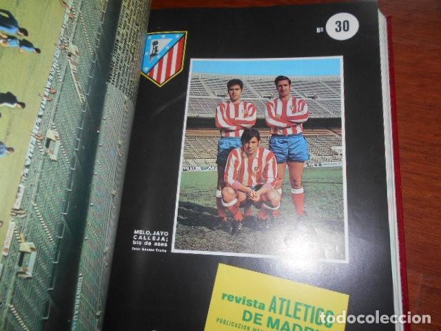 Coleccionismo deportivo: TOMO,REVISTA ATLETICO DE MADRID 28 AL 38 1971 - Foto 4 - 184340785