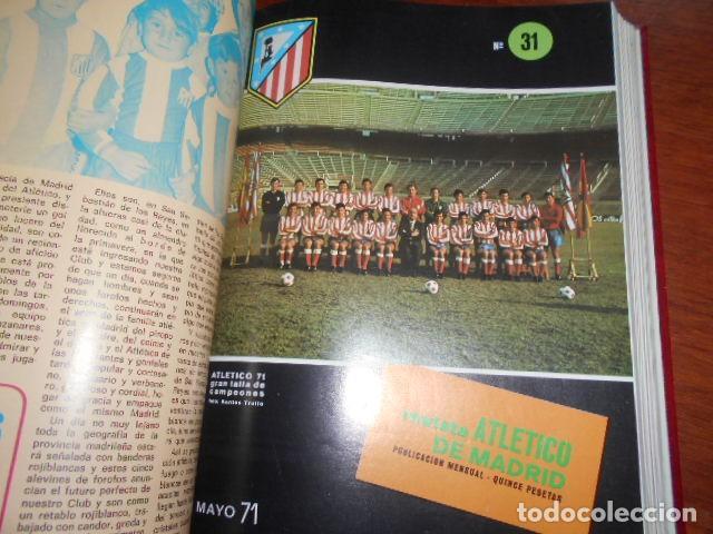 Coleccionismo deportivo: TOMO,REVISTA ATLETICO DE MADRID 28 AL 38 1971 - Foto 5 - 184340785