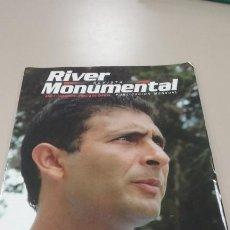 Coleccionismo deportivo: REVISTA RIVER MONUMENTAL. AÑO 2 NUMERO 5, FEBRERO 2004. CON POSTER . Lote 184390483