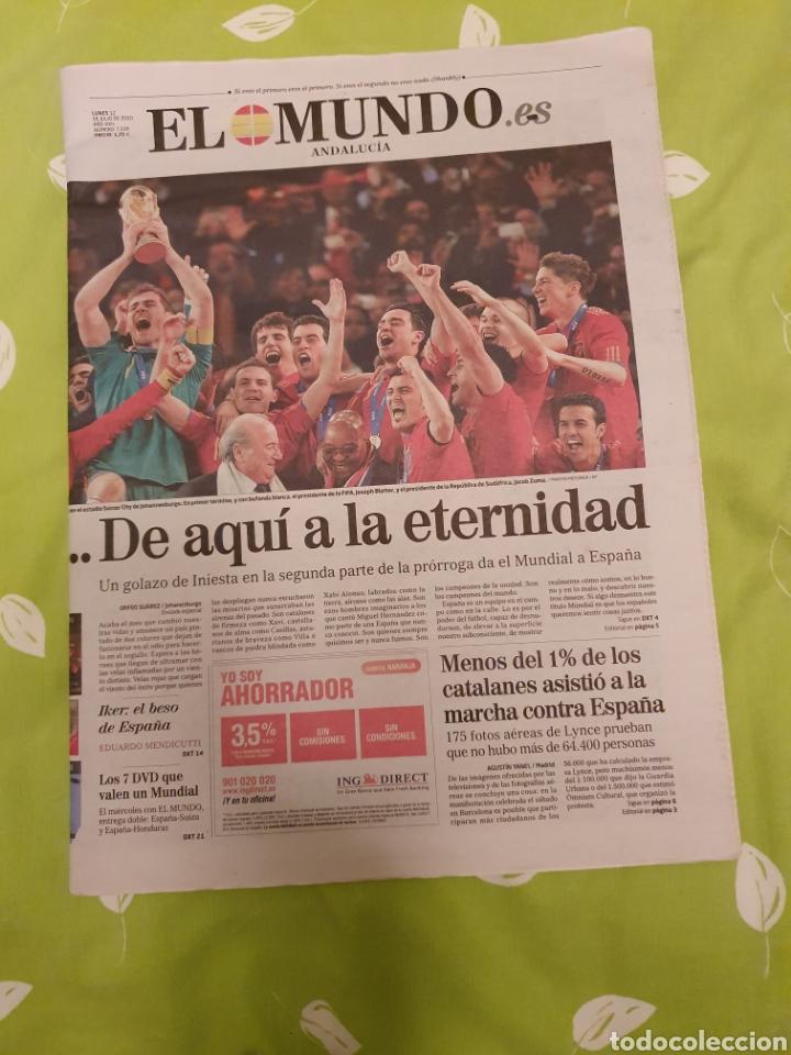 PERIÓDICOS DE LA FINAL DEL MUNDO Y DÍAS POSTERIORES (Coleccionismo Deportivo - Revistas y Periódicos - otros Fútbol)