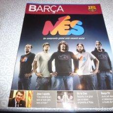 Coleccionismo deportivo: (LLL)F.C.BARCELONA Nº: 36(12-2008)POSTER BARÇA 2008-09,LAGARTO DE LA CRUZ,PLATKO.. Lote 184739320