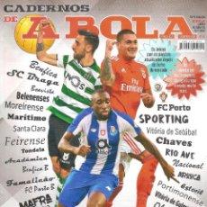 Coleccionismo deportivo: CADERNOS A BOLA (PORTUGAL) 2018/19 18/19 EXTRA LIGA . Lote 184931517