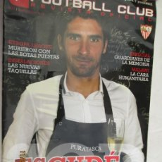 Colecionismo desportivo: FOOTBALL CLUB , REVISTA OFICIAL DEL SEVILLA, Nº 22 , ESCUDE. Lote 185932045