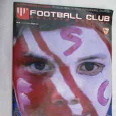 Colecionismo desportivo: FOOTBALL CLUB , REVISTA OFICIAL DEL SEVILLA, Nº 18 DICIEMBRE 2009 , EL EQUIPO DE TODOS . Lote 185932550