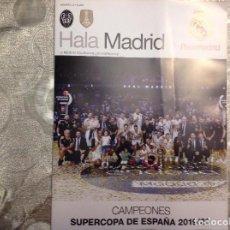 Coleccionismo deportivo: REVISTA HALA MADRID. NUMERO 72. REAL MADRID. FÚTBOL. BALONCESTO. ACM. Lote 186098708