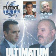 Coleccionismo deportivo: FUTBOL TETE Nº 41.CD TENERIFE-ALICANTE CF.5/10/2008.24 PÁG.. Lote 186138298