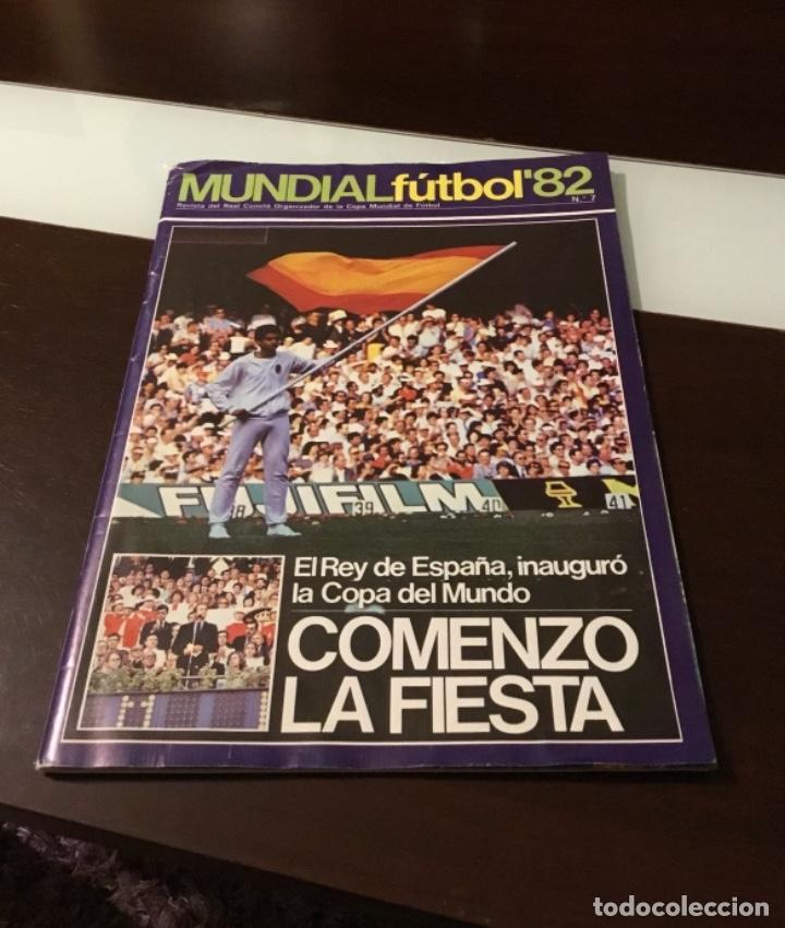 REVISTA DEL REAL COMITÉ ORGANIZADOR DE LA COPA MUNDIAL DE FÚTBOL 1982 (Coleccionismo Deportivo - Revistas y Periódicos - otros Fútbol)
