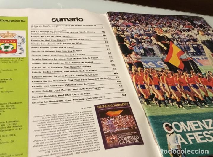 Coleccionismo deportivo: Revista del Real comité organizador de la copa mundial de fútbol 1982 - Foto 2 - 186163052