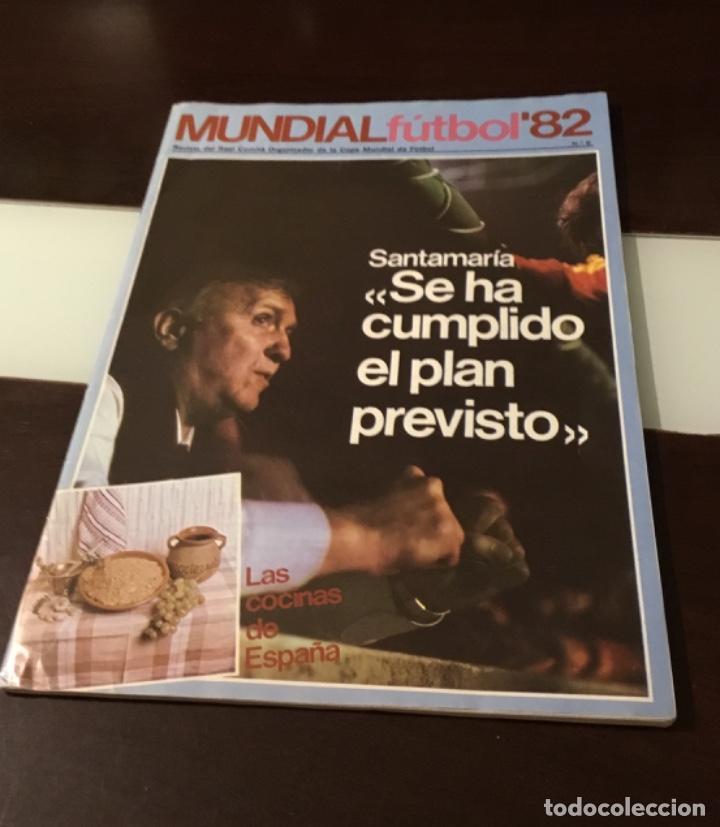 REVISTA DEL REAL COMITÉ ORGANIZADOR DE LA COPA MUNDIAL DE FÚTBOL 82 (Coleccionismo Deportivo - Revistas y Periódicos - otros Fútbol)