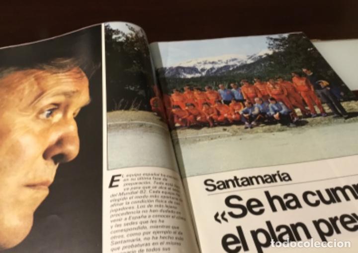 Coleccionismo deportivo: Revista del Real comité organizador de la copa mundial de fútbol 82 - Foto 2 - 186170326