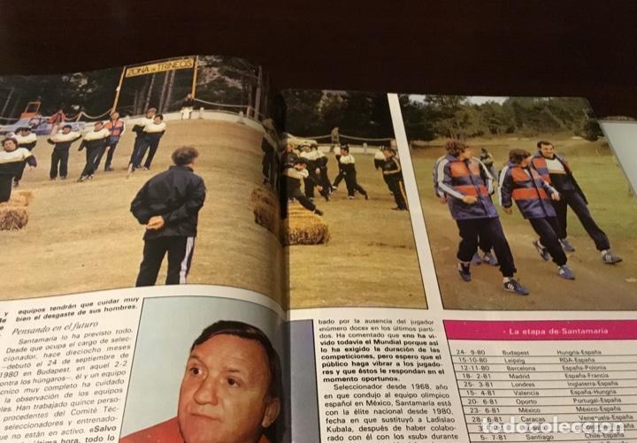 Coleccionismo deportivo: Revista del Real comité organizador de la copa mundial de fútbol 82 - Foto 3 - 186170326