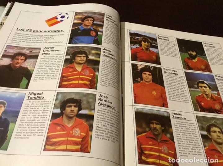 Coleccionismo deportivo: Revista del Real comité organizador de la copa mundial de fútbol 82 - Foto 4 - 186170326