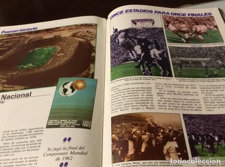 Coleccionismo deportivo: Revista del Real comité organizador de la copa mundial de fútbol 82 - Foto 9 - 186170326
