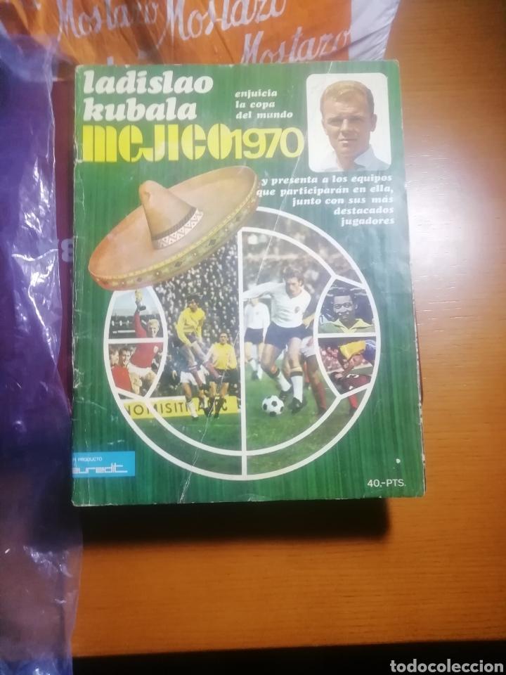 Coleccionismo deportivo: Revista mundial Mejico 1970 . Prólogo kubala - Foto 2 - 186189502