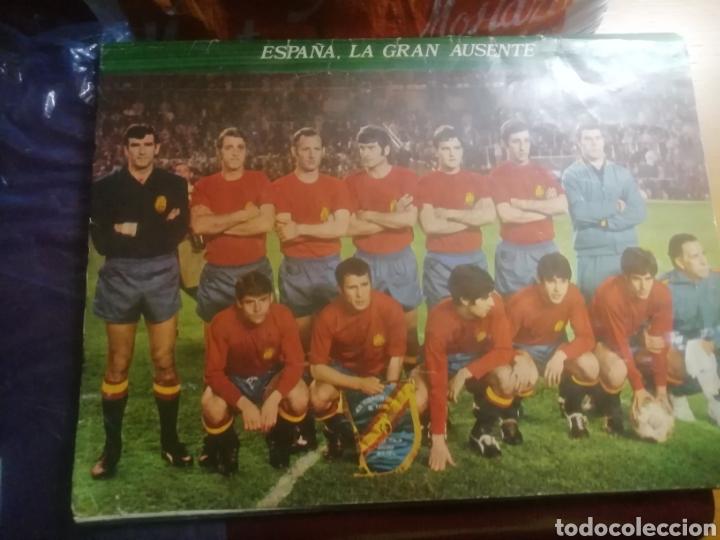 Coleccionismo deportivo: Revista mundial Mejico 1970 . Prólogo kubala - Foto 8 - 186189502