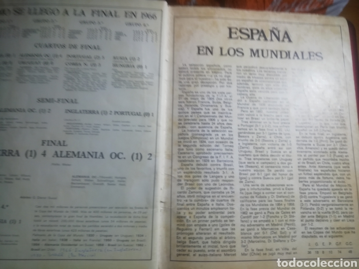 Coleccionismo deportivo: Revista mundial Mejico 1970 . Prólogo kubala - Foto 9 - 186189502