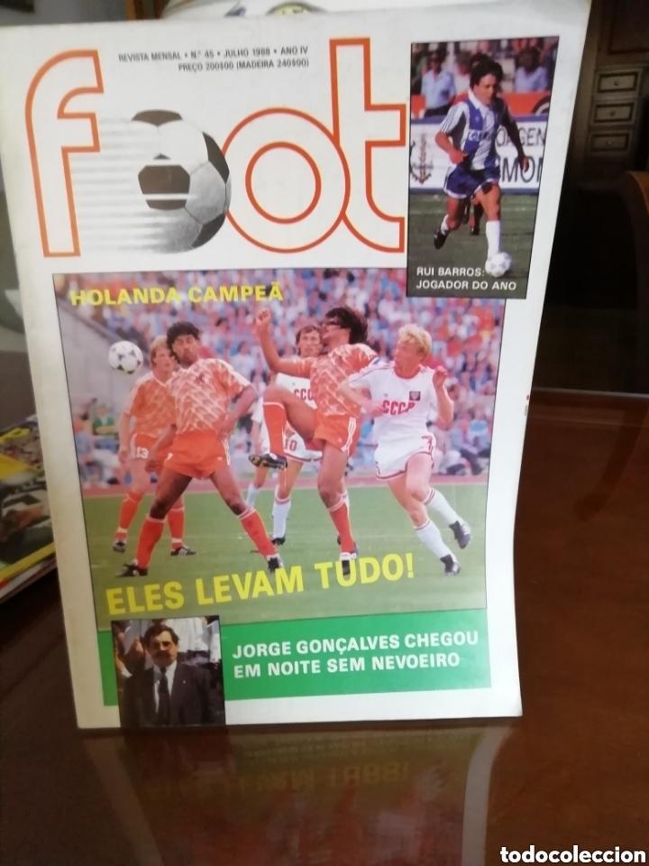 REVISTA FOOT PORTUGAL. EUROCOPA 1988. (Coleccionismo Deportivo - Revistas y Periódicos - otros Fútbol)