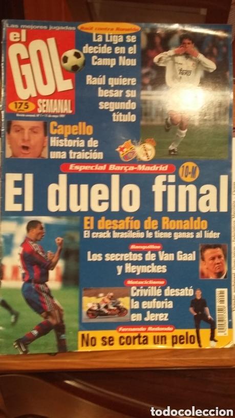 REVISTA EL GOL SEMANAL. NÚMERO 1. 1996. HISTÓRICO (Coleccionismo Deportivo - Revistas y Periódicos - otros Fútbol)
