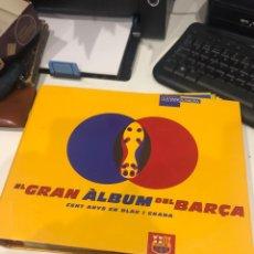 Coleccionismo deportivo: GRAN ÁLBUM DEL BARÇA. Lote 186254140