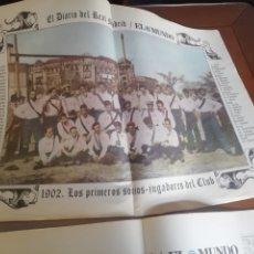 Coleccionismo deportivo: COLECCIÓN REAL MADRID CF. 100 POSTER 1902- 2002. CENTENARIO BLANCO.. Lote 187310801