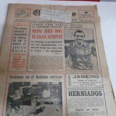 Coleccionismo deportivo: 1981 8 MARZO EL PROGRESO LUGO SECUESTRO FUBOLISTA QUINI. Lote 187422340