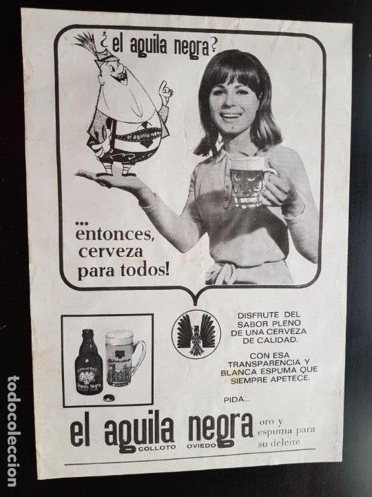 Coleccionismo deportivo: PÓSTER ORIGINAL PEDRO CARRASCO CON PUBLICIDAD 1967 BOXEO LA VOZ DE ASTURIAS ÁGUILA NEGRA - Foto 2 - 187442406