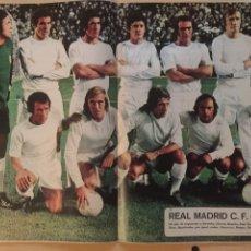 Coleccionismo deportivo: REAL MADRID POSTER CAMPEÓN 1973-74. Lote 187548057