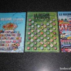 Coleccionismo deportivo: LOTE 3 FASCÍCULOS LE REGINE D´EUROPA GUERIN SPORTIVO ITALIA. Lote 187578870