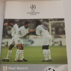Collezionismo sportivo: REAL MADRID ROSENBORG BK PROGRAMA CHAMPIONS 17-9-1997. Lote 187759976