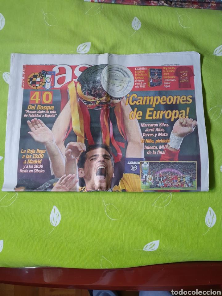 Coleccionismo deportivo: Periódicos de la final del mundo y días posteriores - Foto 17 - 184392952