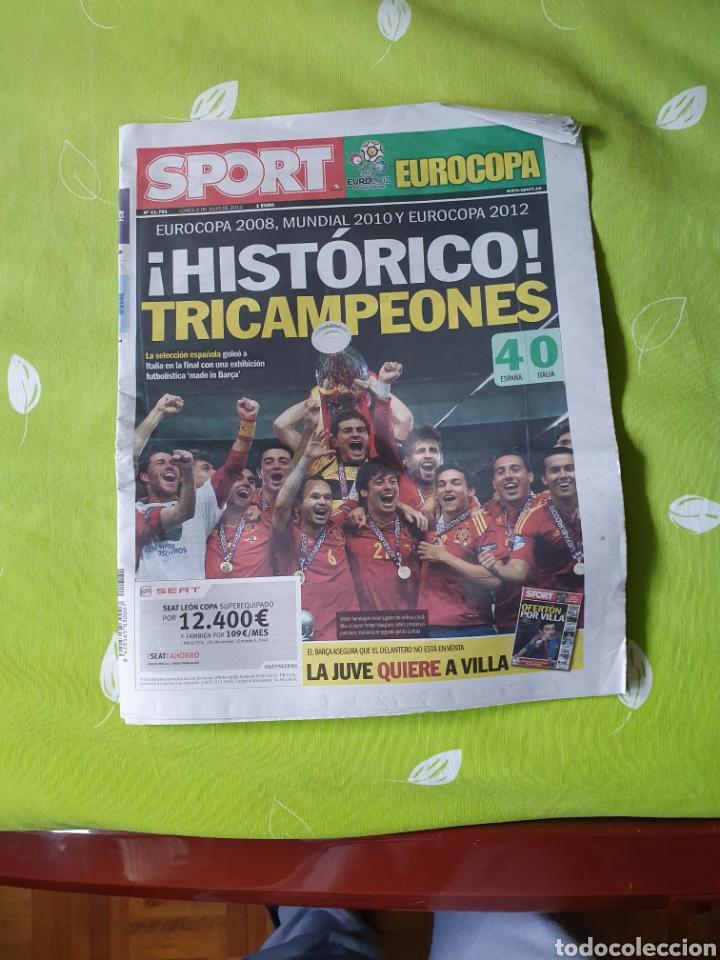 Coleccionismo deportivo: Periódicos de la final del mundo y días posteriores - Foto 19 - 184392952