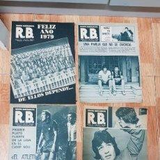 Coleccionismo deportivo: LOTE 4 REVISTA BARCELONISTA R.B 1978. Lote 188416342