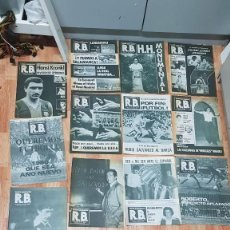 Coleccionismo deportivo: LOTE 12 REVISTA BARCELONISTA R.B 1980. Lote 188422526