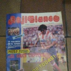 Coleccionismo deportivo: MUNDO ROJIBLANCO. NÚMERO 1 JUNIO 1989. INCLUYE SUPERPOSTER BALTAZAR. FÚTBOL. ATLÉTICO DE MADRID.. Lote 188667153